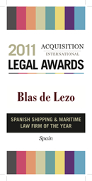 Spanish Shipping and Maritime Law Firm of the Year 2011